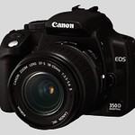 Gemodificeerde Canon 350D