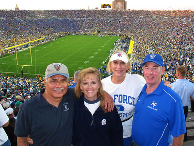 Air Force vs Notre Dame 10-8-11
