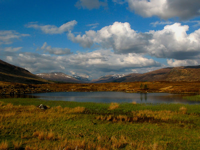 Corrour Station House & Loch Ossian