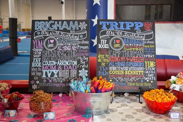 BRIGHAM & TRIPPS BIRTHDAY CELEBRATION {06.06.15}