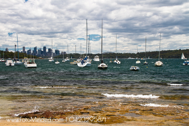 Sydney CBD view from Watson Bay