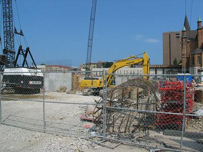 2003-08-16: Kern Center Construction