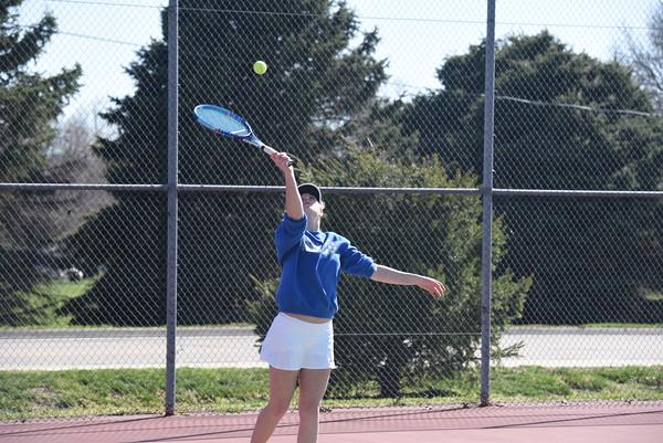 Girls Tennis at Blair