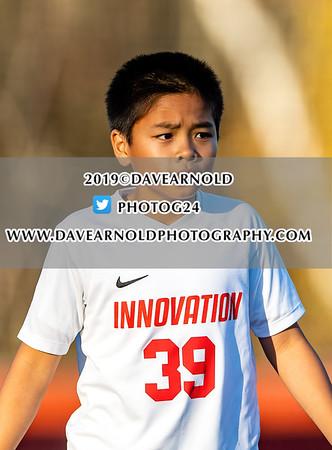 10/24/2019 - Boys JV Soccer - Innovation vs Austin Prep