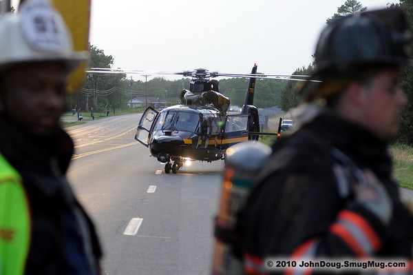 5/31/2010 Motorcycle Accident with Fly Out