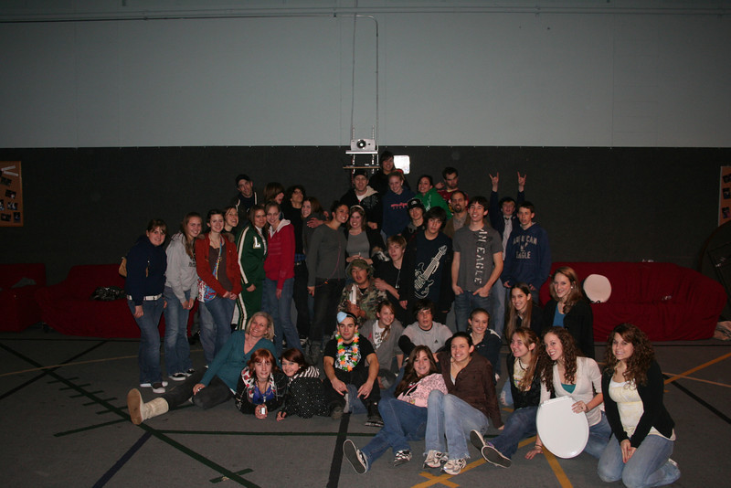 High School Scavenger Hunt Feb 08 Group Picture