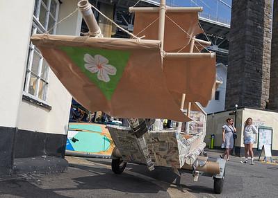Saltash Regatta Cardboard Boat Race 05/09/ 2021