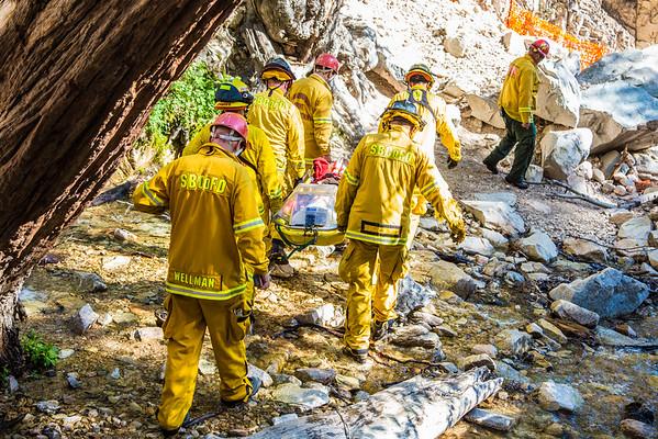 Rescue Big Falls, Forest Falls (6/4/16)