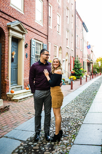 MICHELLE AND NICK - OLD CITY ENGAGEMENT SESSION - 4.jpg