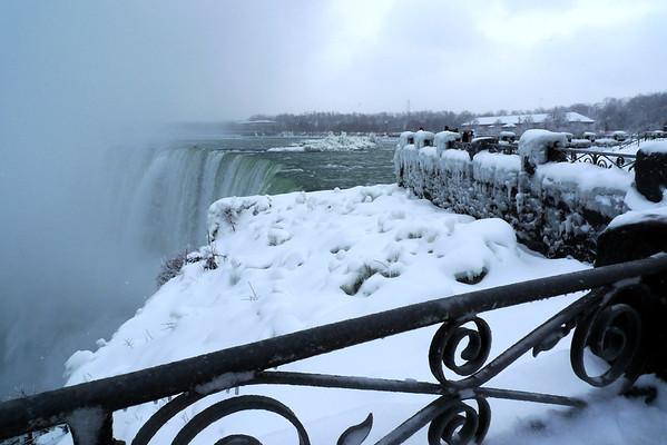 Niagara Falls, Jan. 2010