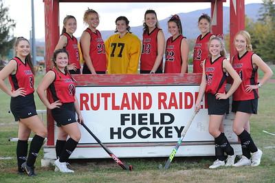 RHS Field Hockey photo shoot 2020