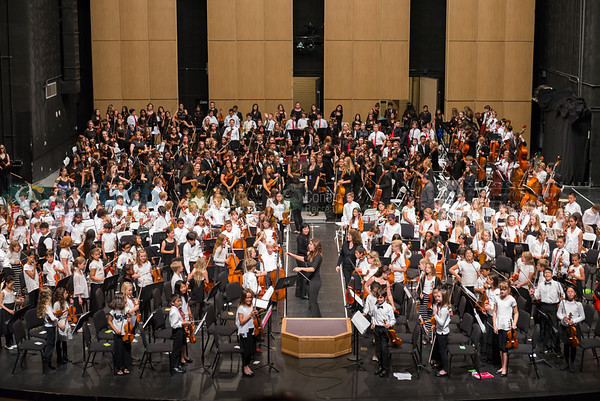 Orchestra - Thousand Oaks and Newbury Park High School Cluster - April 26, 2016