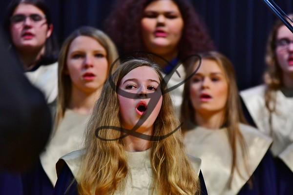 Christmas 2018  Band & Choir