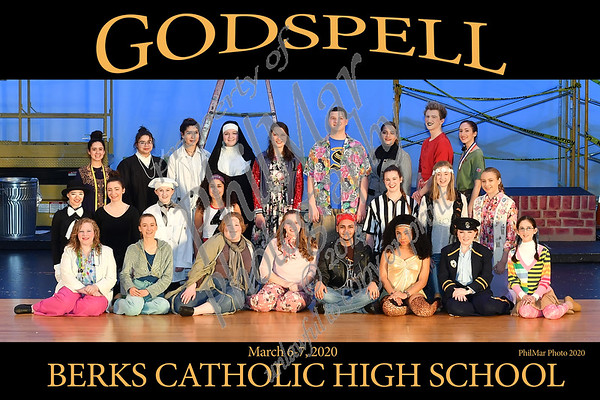 Godspell Cast Photos