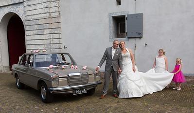 Cindy en Christiaan getrouwd!