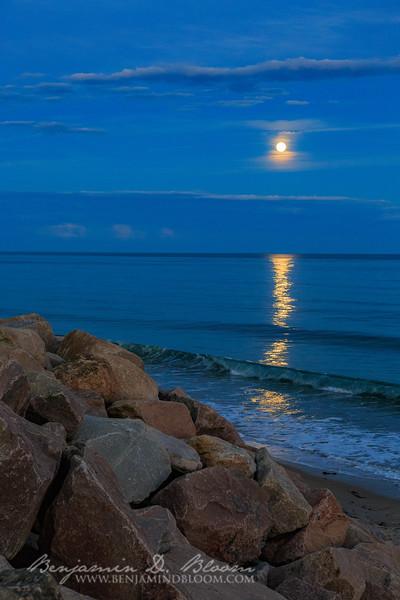 Misquamicut Moonrise