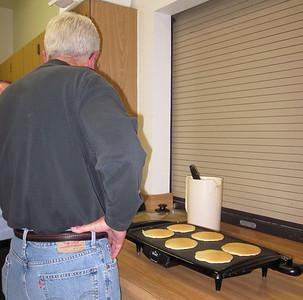 Shrove Tuesday Pancake Supper 2012