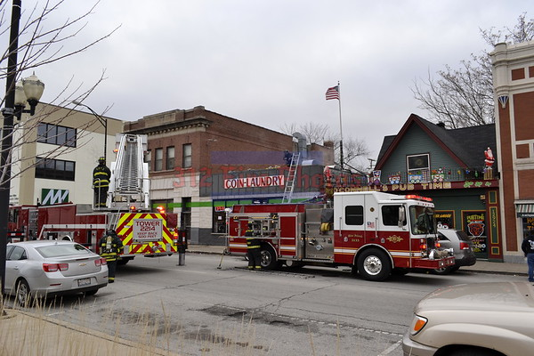 Blue Island, Illinois Working Fire 12930 S. Western Ave. 12/17/2014