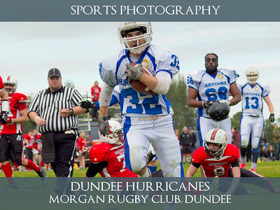 Dundee Hurricanes 2015 - Sports Photography