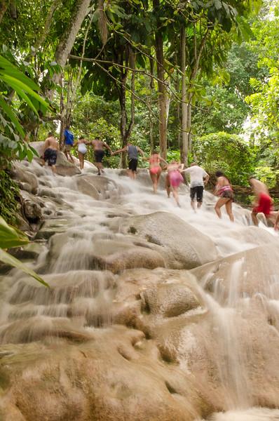 Dunn's River Falls/Ocho Rios/Jamaica - Nov., 2015