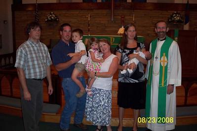 Mason Baptism Georgia 08/08