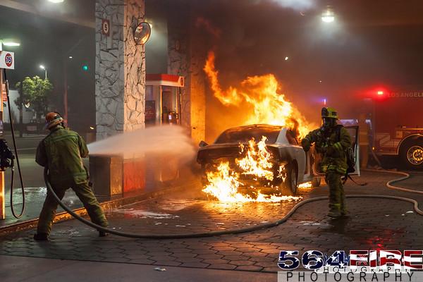 LAFD - Auto Fire - 4-11-15
