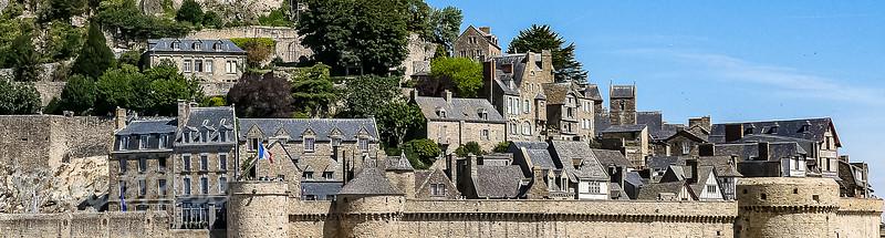 Lower Villages of Mont Saint Michel