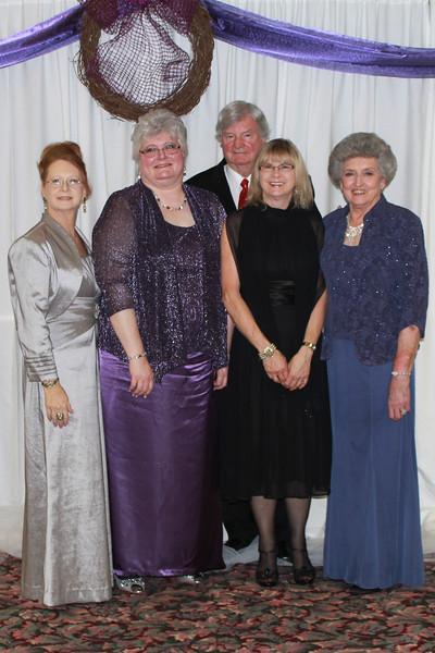Alpha Delta - Ann Akins, Ann Southall, Jim Beshears, Beckie Rainwater, and Martha Beshears