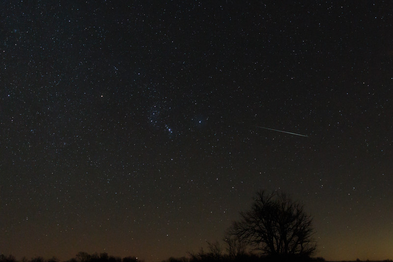 Geminid Meteor 3
