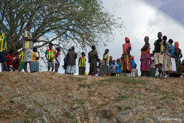 Konso people's village - שבט הקונסו