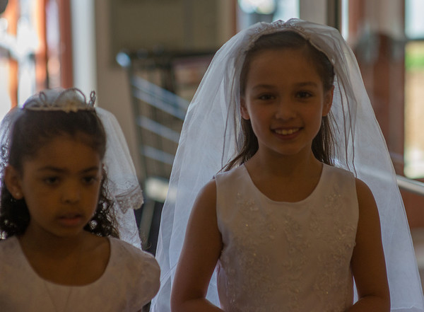 Elena First Communion