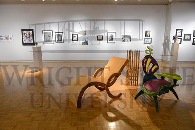 13326 High School Art Teachers Art Show in the Stein Galleries 3-19-14