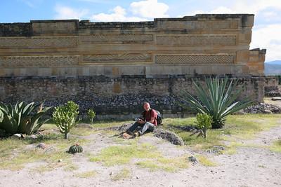 ruines Zapotec de Milta état de Oaxaca / ruinas Zapotec de Milta estado de Oaxaca / ruins Zapotec de Milta state of Oaxaca / Ruine Zapotec de Milta Stand von Oaxaca