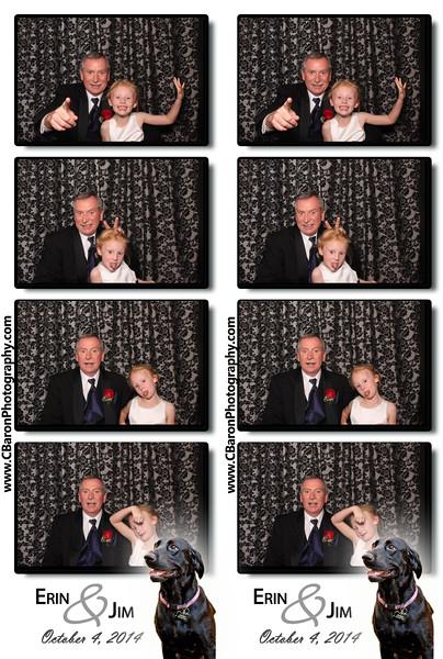 Erin + Jim = Swanky Photobooth