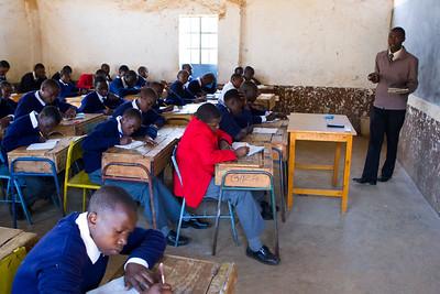 Kenya - Muguga High School Visit - Day 5 - 3-14-12