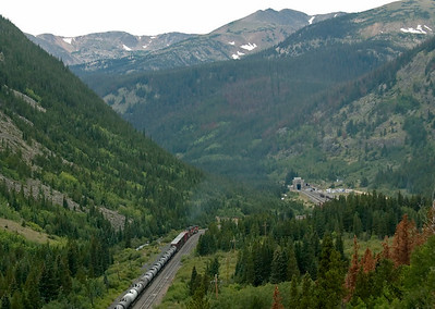 Colorado: Moffat tunnel route, 2008