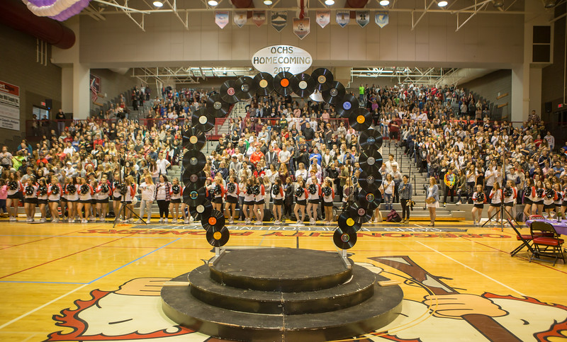 OCHS Homecoming Assembly - Oct 2017