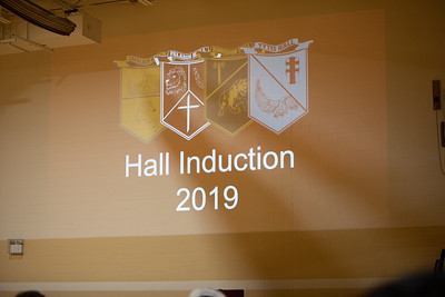 Hall Induction Ceremony Fall 2019