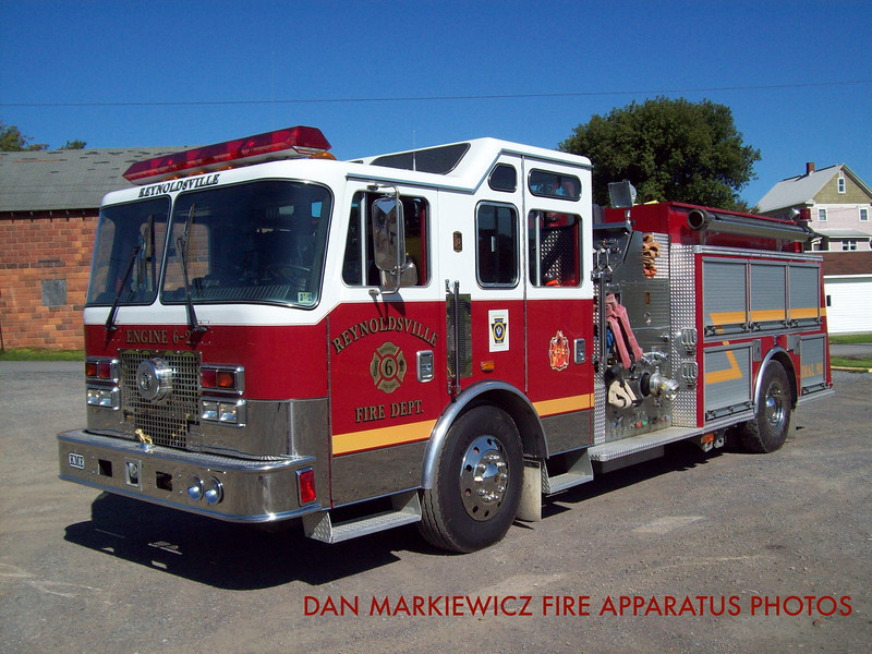 REYNOLDSVILLE FIRE DEPT. ENGINE 6-2 1997 KME PUMPER