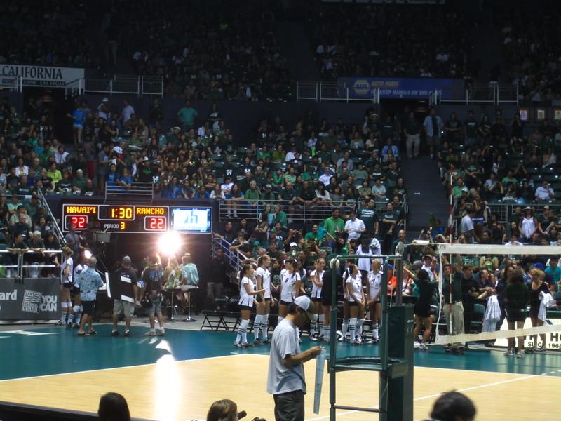 Hawaii - Wahine Volleyball Game-6.JPG