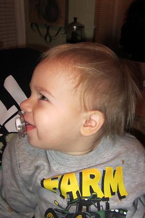 Brinnley's First Haircut