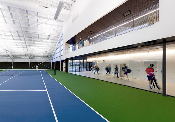 Grant Connell Tennis Centre - Fall Photos