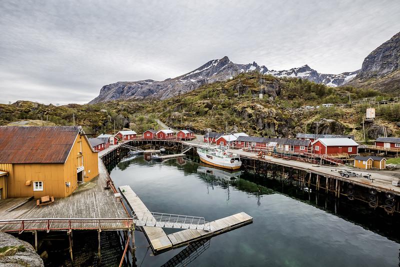 Nusfjord Norway - Fishing Village