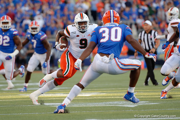 Florida Gators Football vs Miami Hurricanes Quick Gallery 08-24-2019