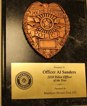 2020 Law Officer of the Year                       July 17, 2020