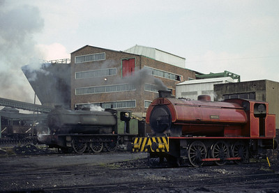 Bickershaw colliery, Leigh, 1973 and 1977