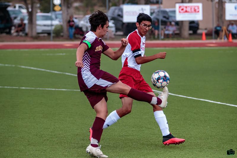 Rehoboth vs Grants Boys Soccer 9-3-2021