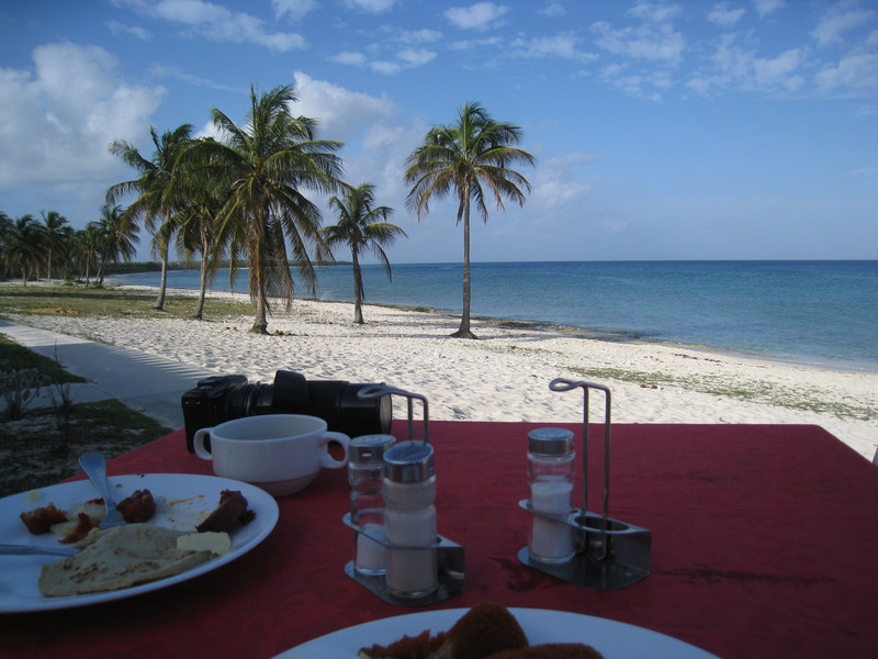 Very bad breakfast at the buffet: the worst in all of Cuba!