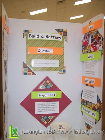 2008-2009 LES 4th Grade Science Fair