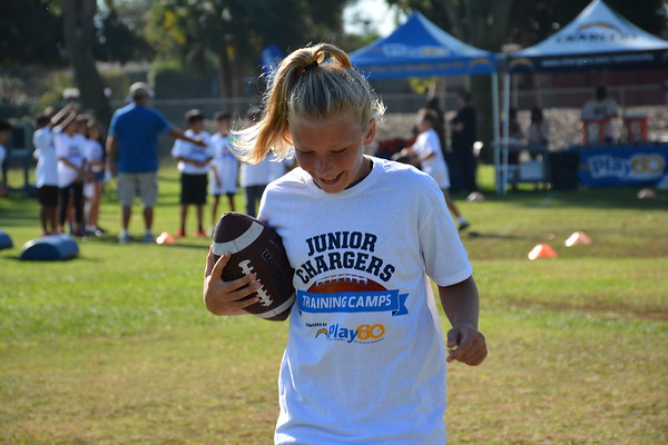 2017 Junior Chargers Training Camp